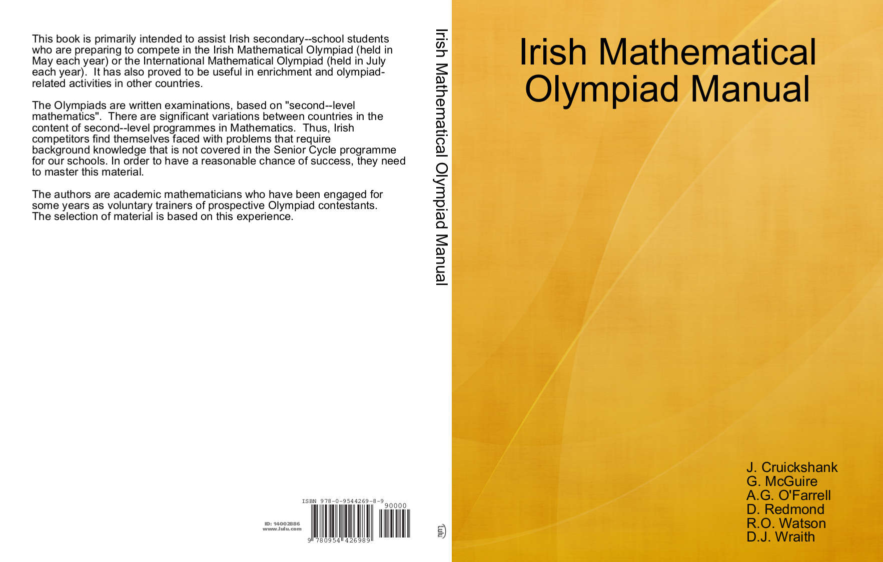 Mathematical Olympiad Problem Book